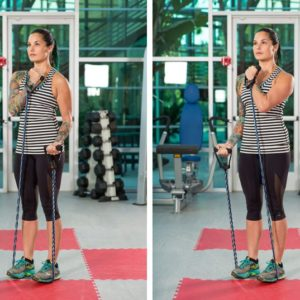 Try this variation for Bicep Curls